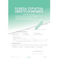 Schede copiative per libretti impianto